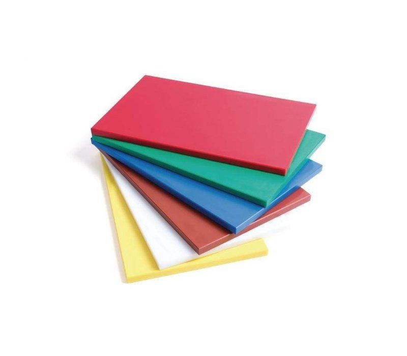 XXLselect Snijplank HACCP | GN1/2 | Glad | Beschikbaar in 6 kleuren