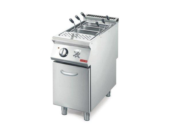 XXLselect Pastakoker Elektrisch   40 Liter   Met Onderstel   7,6kW/400V   700x400x850(h)mm