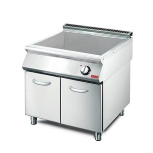 XXLselect Bain-Marie Electric | GN2 / 1 | Mit Berg | 3kW / 400V | 800x700x850 (h) mm