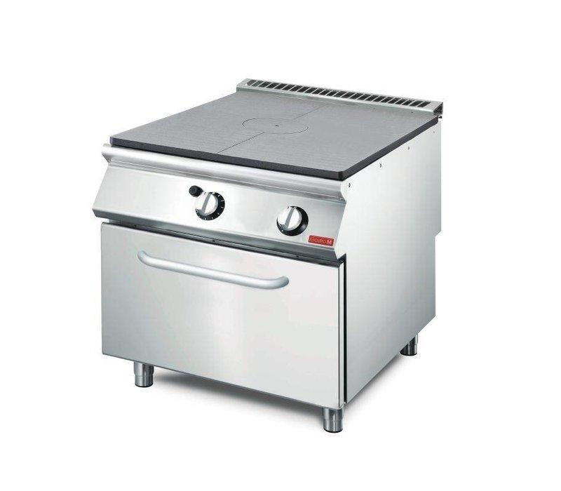 XXLselect Platenfornuis Gas + Oven | RVS | 17kW | 700x800x850(h)mm