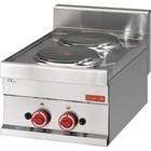 XXLselect Electric stove | 2x Ø220mm | 3kW / 400V | 300x600x280 (h) mm