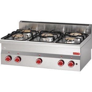 XXLselect Cooker 5 Seeds | 2x and 3x 2,8kW 3,3kW | 600x900x280 (h) mm