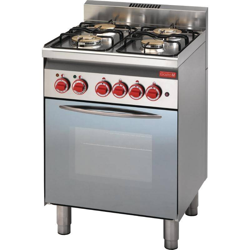 Electric Oven And Grill Part - 26: XXLselect Stove 4 Burners + Electric Oven And Grill | 14,7kW / 230V |  600x600x850 (h) Mm