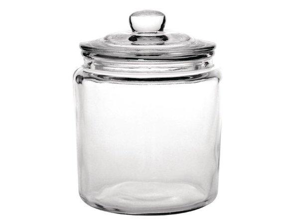 XXLselect Voorraadpot Glas Olympia   6,2 Liter   Ø200x293(h)mm