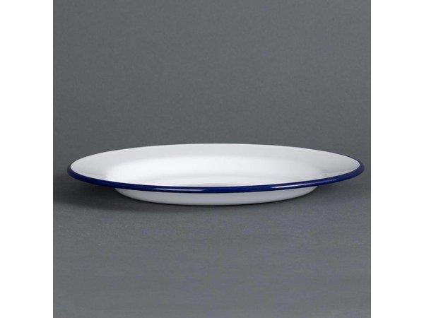 XXLselect Dinerbord Olympia | Geëmailleerd | Ø245mm | Per 6 Stuks