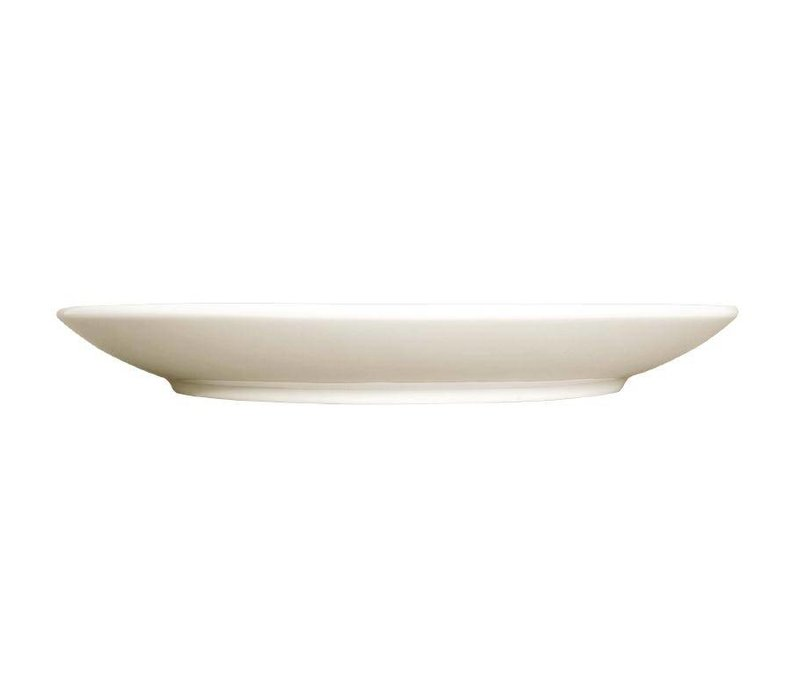 XXLselect Ivory Coupe Platte | Durable Porzellan | Ø280mm | Mit 6 Stück