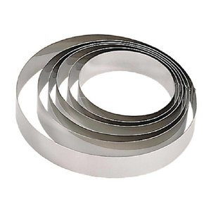 XXLselect Mousse Ring RVS | Ø180x45(h)mm
