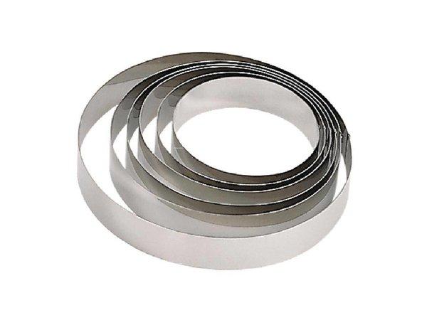 XXLselect Mousse Ring RVS   Ø180x45(h)mm