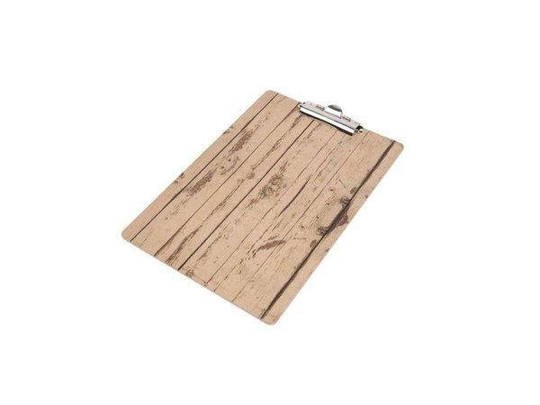 XXLselect Klembord Hout A5 | 160x240(h)mm