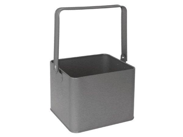 XXLselect Tabelle Veranstalter Grau   Stahl verzinkt   155x135x180 (h) mm
