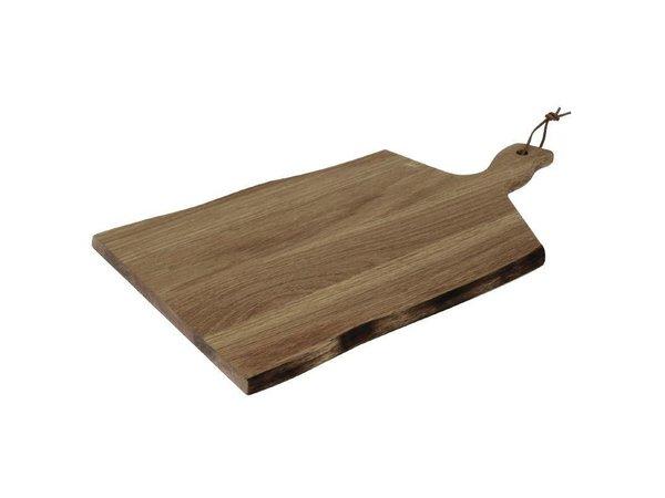 XXLselect Plank Golvende Rand | Acacia Hout | 355x250mm | Handgreep 85mm