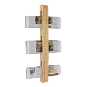 XXLselect Magazine / Newspapers Rack | wood | 45x70x605 (h) mm