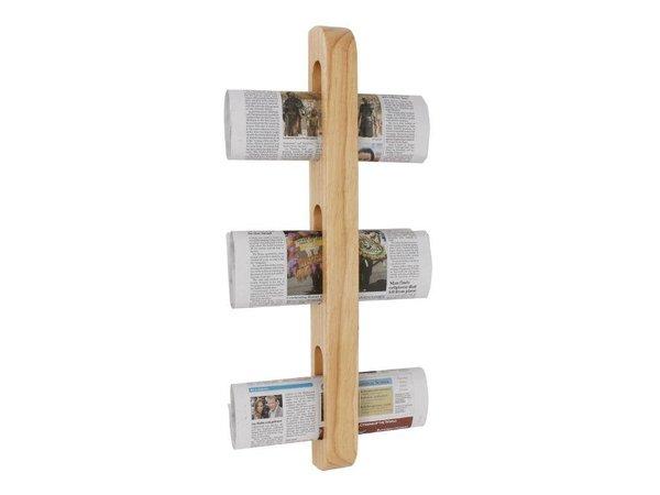 XXLselect Magazine / Zeitschriften-Rack | Holz | 45x70x605 (h) mm