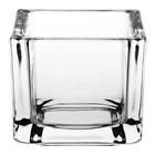XXLselect Theelichthouder Vierkant | Glas | 60x60x50(h)mm | Verpakt per 6