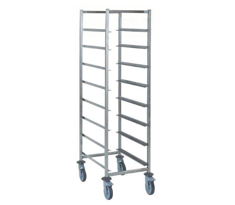 XXLselect Stainless steel baskets Car Universal | 8 Floors