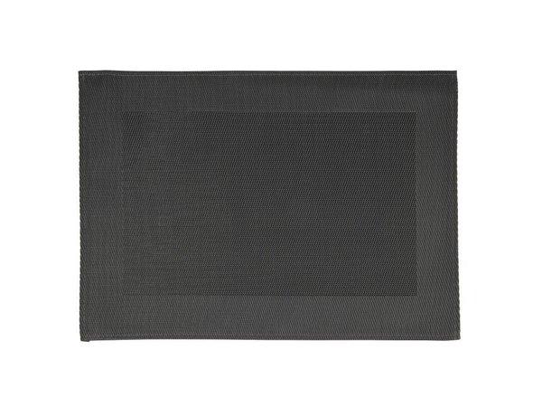 XXLselect Placemat met Zwarte Rand   PVC   450x330mm   Verpakt per 6