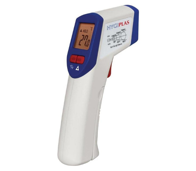 XXLselect Thermometer Infrarood   -20 tot +320°C    Incl. 9V Batterij