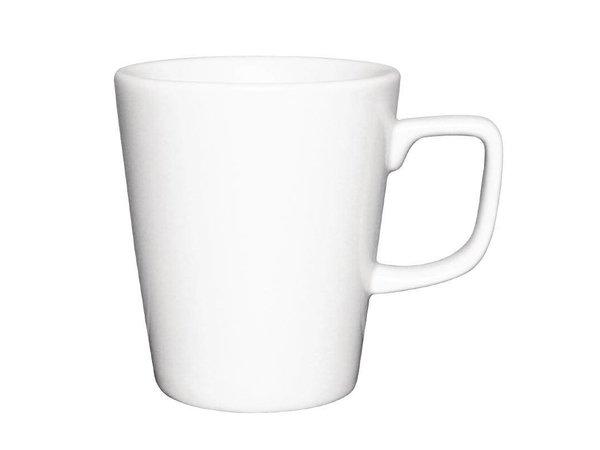 Athena Hotelware Athena Latte Mok | 285ml | Wit Porselein | Verpakt per 12
