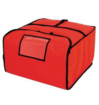 XXLselect Pizza Transport Tas   Polyester   Isolatie Dikte 18mm   500x500x300mm