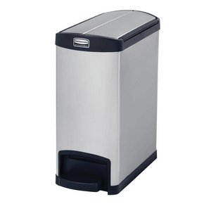 XXLselect Pedaalemmer Rubbermaid | RVS | End Step | 30 Liter | 550x256x588(h)mm
