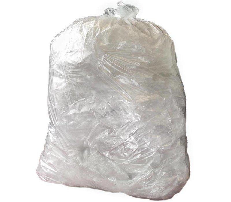 XXLselect Vuilniszakken Transparant | 15kg | Per 200 Stuks