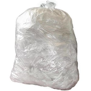 XXLselect Vuilniszakken Transparant | 10kg | Per 200 Stuks