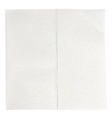 Jantex Handdoeken Wit Papier | 1-Laags | 320x300mm | Verpakt per 1200