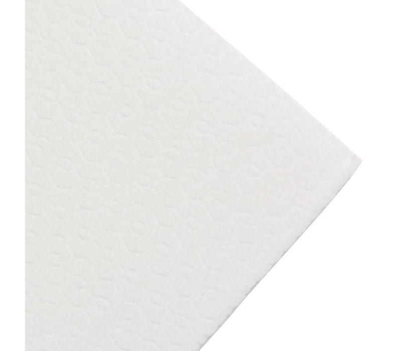 XXLselect Handdoeken Wit Papier | 1-Laags | 320x300mm | Verpakt per 1200
