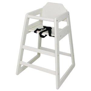 XXLselect Kinderstoel Antiek Wit | Zithoogte 500mm