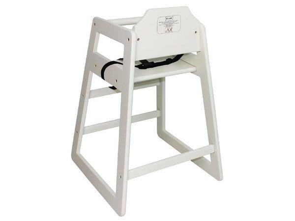 XXLselect Kinderstoel Antiek Wit   Zithoogte 500mm