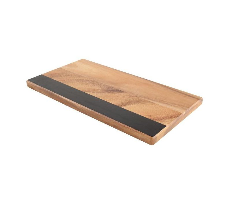XXLselect Kaasplankje met Krijtbord | T&G Woodware | 200x380x20(h)mm