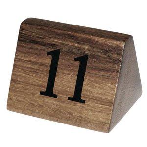 XXLselect Tafelnummers 11-20 | Massief Hout | 10 Stuks