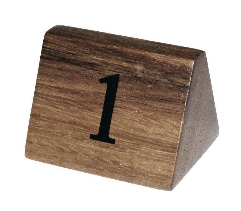 XXLselect Tafelnummers 1-10 | Massief Hout | 10 Stuks