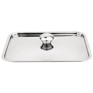 XXLselect Deksel RVS - voor Mini Braadpan - 150x100mm