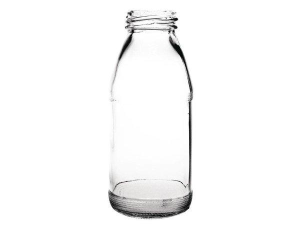 XXLselect Melkfles Glas 200ml | Verpakt per 12