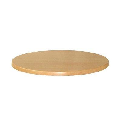 Werzalit Werzalit beuken tafelblad, rond 70cm