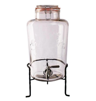 XXLselect Glazen Waterdispenser op Standaard | 8,5 Liter