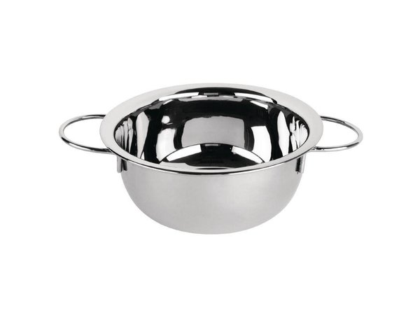 XXLselect Mussel SS | Small Portions | dishwasher | Ø175mm | 0.5kg