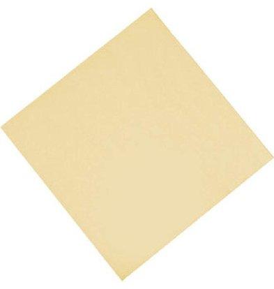 Fasana Papieren Servetten Crème | 2-Laags | 330x330mm | Per 1500 stuks