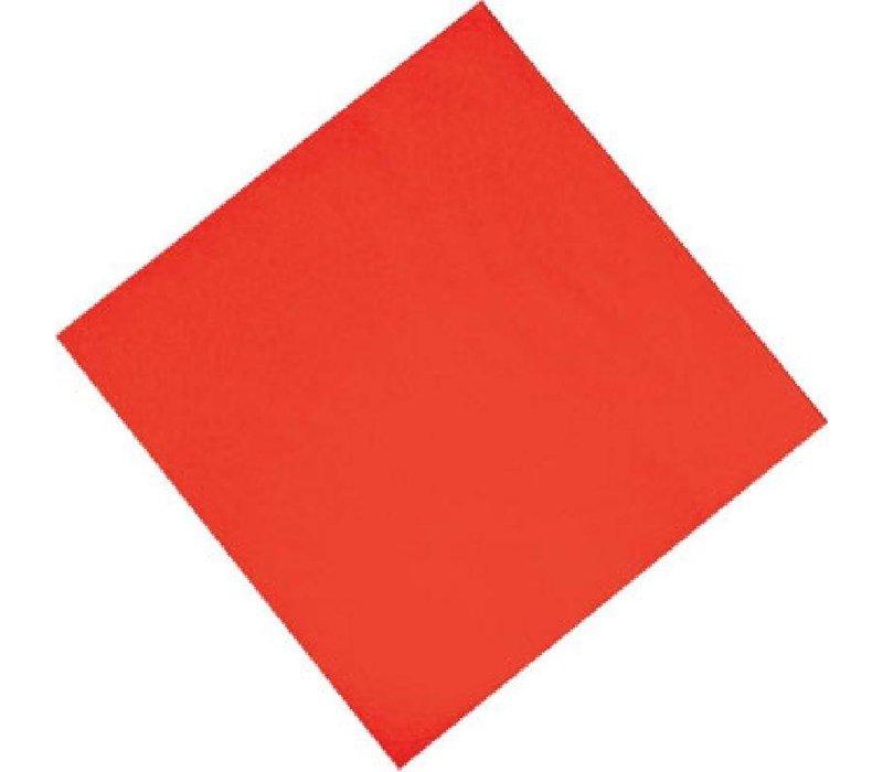 XXLselect Papieren Servetten Rood | 2-Laags | 330x330mm | Per 1500 stuks
