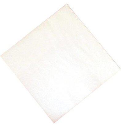 Fasana Papieren Servetten Wit | 2-Laags | 330x330mm | Per 1500 stuks