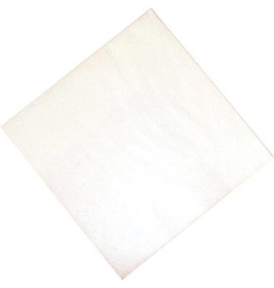 XXLselect Papieren Servetten Wit | 2-Laags | 330x330mm | Per 1500 stuks