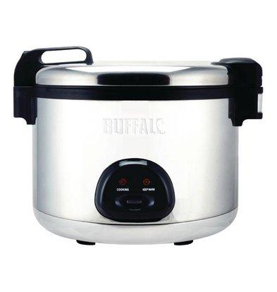 Buffalo Rice Cooker Jumbo + + Measuring cup Spatula | 27 Liter / 108 Portions