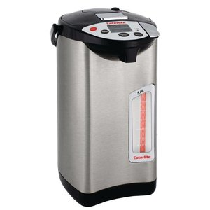 XXLselect Hot Water Dispenser Stainless Steel | 5 Temperatures | Electric with pump | Ø300mm | 5 liter