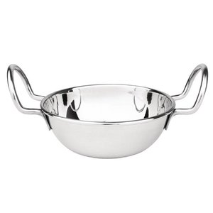 XXLselect Balti-Pan stainless steel   Dishwasher safe   Ø105mm