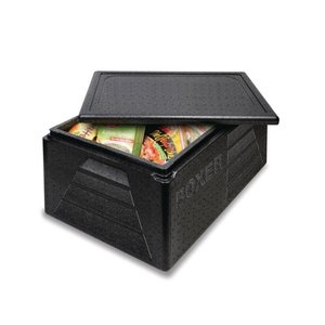 XXLselect Thermobox GN1/1 | 42 Liter | - 40 tot +120 °C | Zwart | 595x395x290mm
