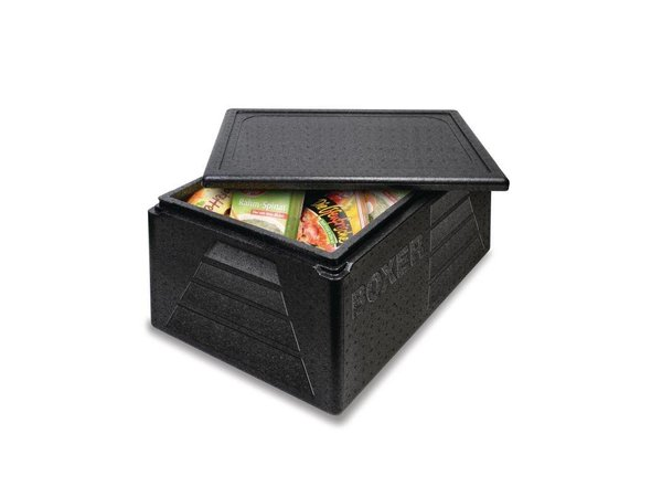XXLselect Thermobox GN1/1 | 42 Liter | - 40 tot +120 °C | Zwart | 595x395x290mm