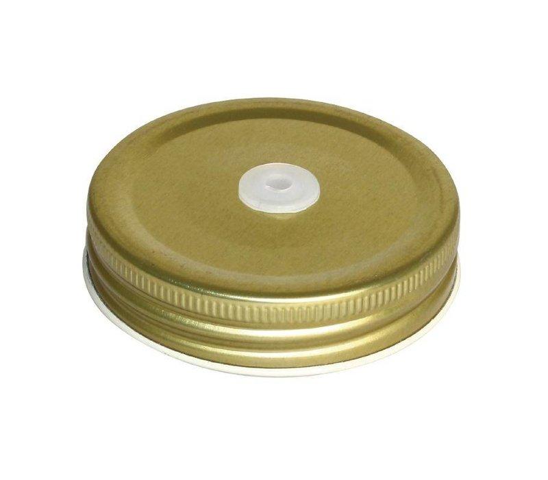 XXLselect Deckel für Glas Cocktail Cup - Loch für Straw - 12 Stück