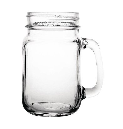 Olympia Glas Cocktail Cup - weckpot Style - 450ml - 12 Stück