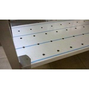 XXLselect Make the closed bottom shelf or a shelf between perforated shelf - Incl. Montage